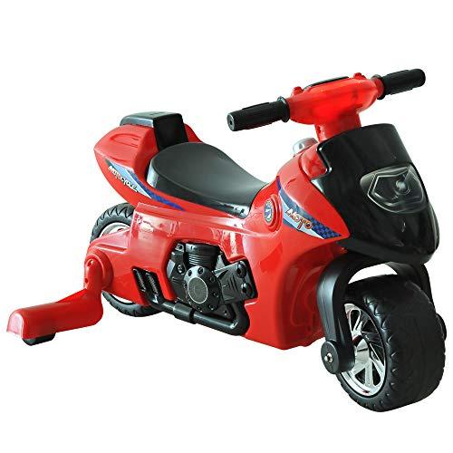 HOMCOM Moto Correpasillos Infantil Coche sin Pedales para Bebé Juguete Andador con Bocina 70.2x32.5x41cm