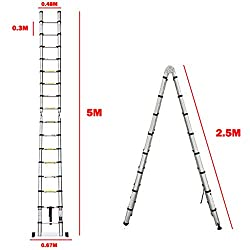 A frame telescopic ladder | Hardware-Store co uk/