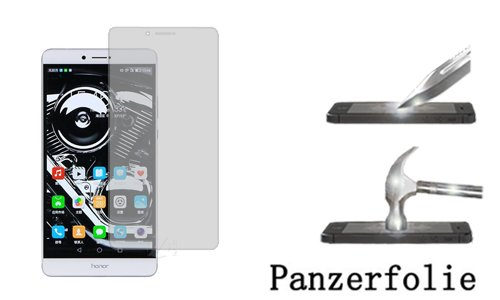 FONFON Panzerfolie für Huawei Honor Note 8 Schutz Folie Screen Klar Folie Crystal Clear Schutzfolie