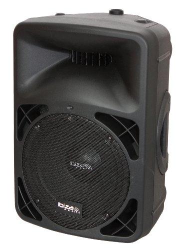 Ibiza PRO12A-BT - Altavoz de suelo, negro