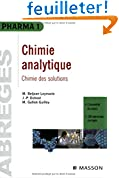 Chimie analytique : chimie des solutions: POD