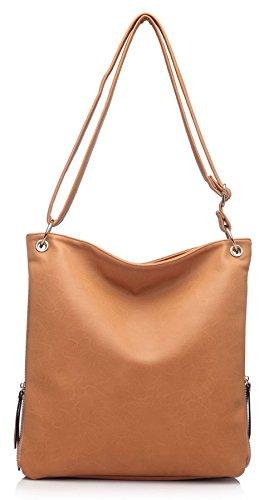 De Moda Para La Venta Al Mejor Precio Para La Venta Big Handbag Shop - Borsa a tracolla donna (Black (KL219)) ZbpbplWjLJ
