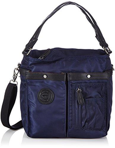 Tamaris KIRSTY Handbag 1140142-805 Damen Henkeltaschen 27x26x20 cm (B x H x T), Blau (navy 805)