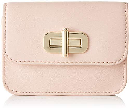 Tommy Hilfiger Damen Soft Leather Sm Flap Wallet Bl Geldbörse, Pink (Blush), 2.5x9x11 cm -