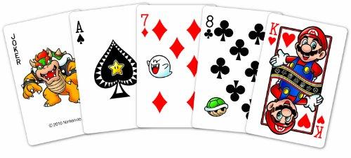 Super Mario Spielkarten / Kartenspiel: Standard Version (54 Karten)