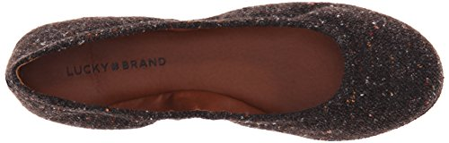 Lucky Brand Emmie Toile Ballerines Black Speckled