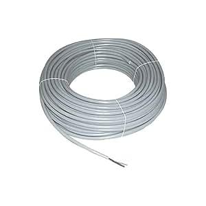 ProfIPlast PRP803604 HO5VVU Câble rigide 3G 6 mm Gris