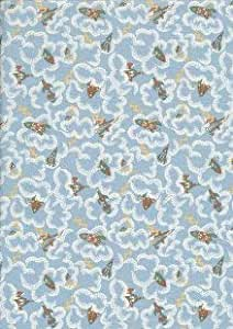 LITTLE SHEEP FUNNY FABRIC FAT QUARTER 50 cm x 56 cm COTTON BUNTING GIFT