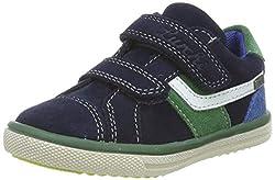 Lurchi Jungen MINO-TEX Sneaker, Blau (Navy Green 42), 30 EU