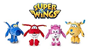 Famosa - Play by Play Peluche Super Wings Soft 20cm Surtido,12unidades por Pedido, (760015488)