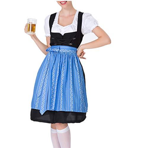 A Und H Kostüm Mieten - WooCo Dirndl Kleid Damen Midi