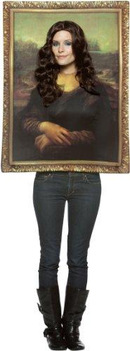 Rasta Imposta Mona Lisa - Bilderrahmen - Adult Kostüm