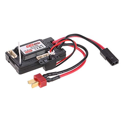Preisvergleich Produktbild JJRC Q39 2,4G R / C 4WD 1: 12 RC Auto Teile No. FY-RX01 2CH 40A Monocoque Steuerung ESC Empfaenger