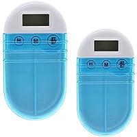 XIHAA Portable Grid Intelligente Elektronische Timing Pille Fall Alarm Timer Pillen Digitale Erinnerung Aufbewahrungsbox... preisvergleich bei billige-tabletten.eu