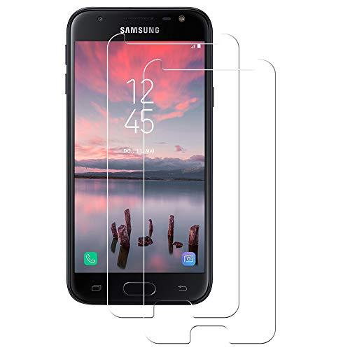 POOPHUNS 2-Unidades Cristal Templado Samsung Galaxy