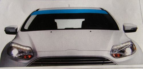 Sumex TES0040 Pare-Soleil 130 x 15 cm Bleu