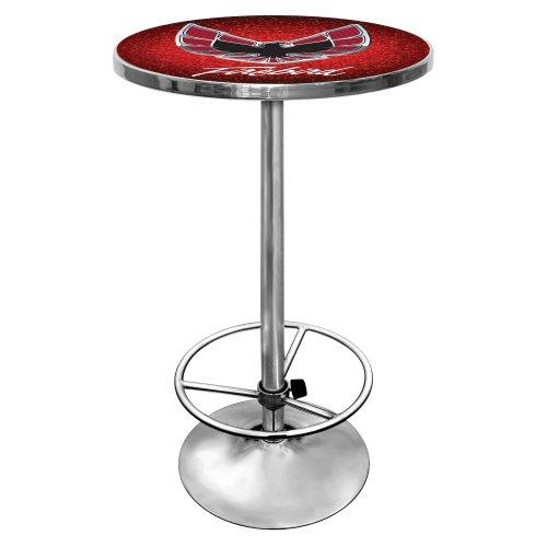 Trademark Gameroom Pontiac Firebird rot chrom Pub Tisch