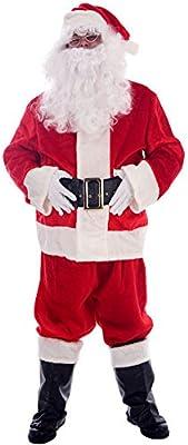 Disfraz de Papá Noel lujo adulto - Única