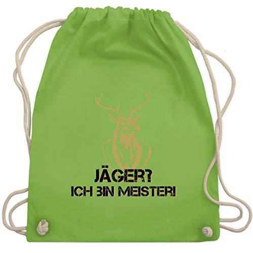 Après Ski - Jäger? Ich bin Meister! - Unisize - Hellgrün - WM110 - Turnbeutel & Gym - Hirsche Und Jäger Kostüm