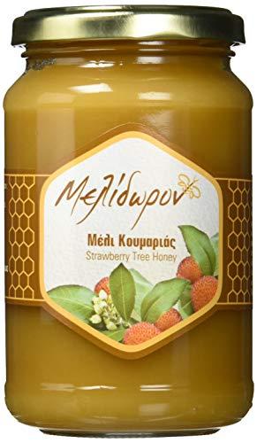 Melidoron Roher Griechischer Erdbeerbaum Honig, 450 g (Griechischer Reiner Honig)