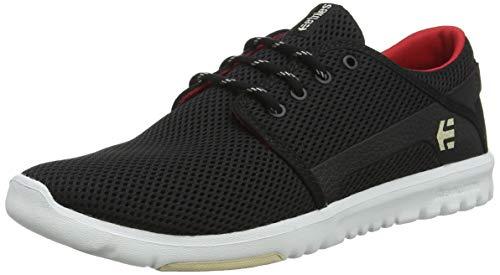 Etnies SCOUT 4101000419/488, Sneaker Uomo, Nero (nero / rosso), 42 EU(8 UK)