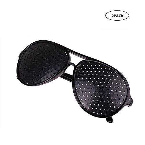 Eye Vision verbessert Brillen Vision Verbesserte Loch Brille Anti-Fatigue Brille Sicherheit Swap Wraparound Hybrid Augensicherheit