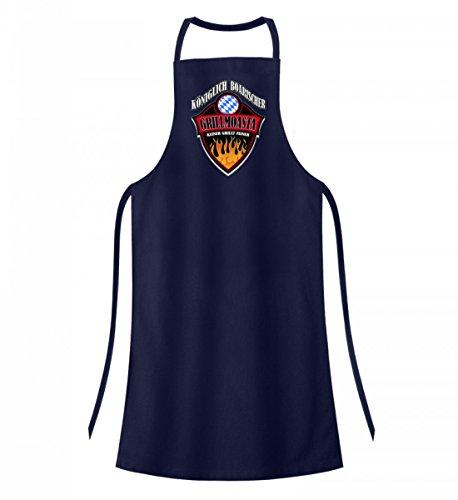 Hochwertige Grillschürze - KÖNIGLICH BOARISCHER GRILLMOASTA - Bayerisch · Boarisch · bayrisch · Shirt · lustig · Spruch · Pulli · Jacke · Hoodie · T-Shirt · Geschenk