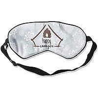 Happy Camper Trees 99% Eyeshade Blinders Sleeping Eye Patch Eye Mask Blindfold For Travel Insomnia Meditation preisvergleich bei billige-tabletten.eu