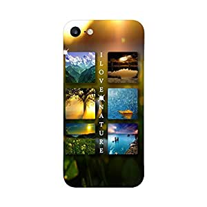 Digi Fashion Designer Back Cover with direct 3D sublimation printing for Apple iPhone 7
