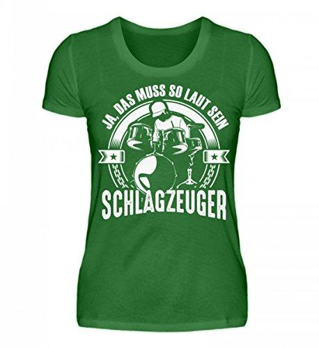 Hochwertiges Damen Organic Shirt - Schlagzeug Shirt · Musiker · Drummer · Musikinstrument · Band · Schlagzeuger · Hobby · lustig · Spruch · Pulli · Jacke · Hoodie · T-Shirt · Geschenk (Hoodie Mit Musikinstrumenten)