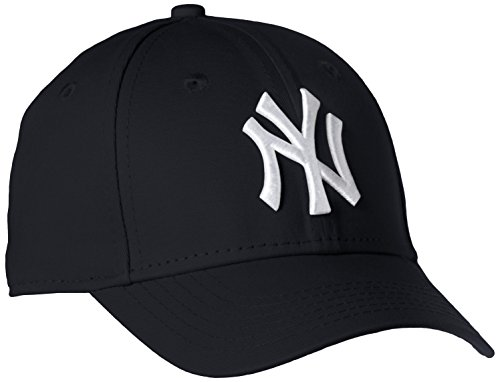 New Era Boy's Kids MLB Basic NY Yankees 9Forty Adjustable Cap, Blue (Navy), One Size