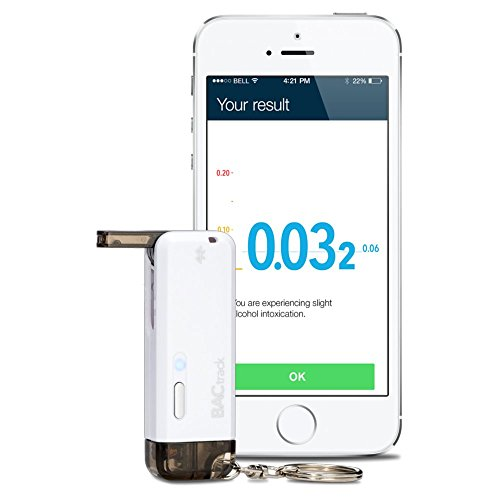 BACtrack Vio Smartphone Keychain Alcootest pour iPhone et Android Devices