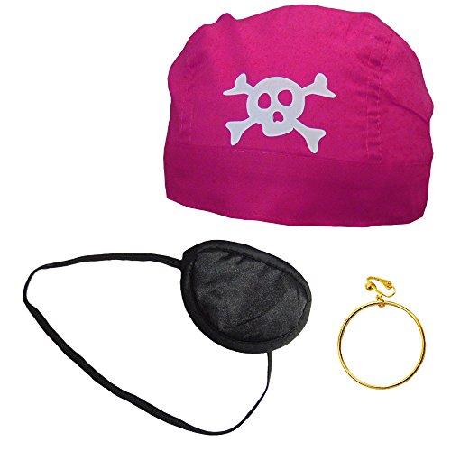 Partybob Piratenkostüm Set (Piraten Erwachsene Outfit Für)