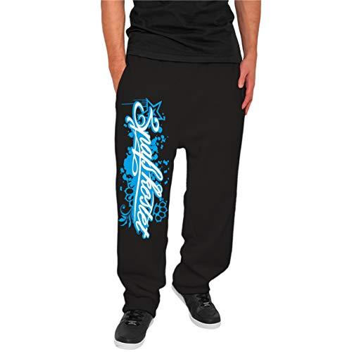 Spaß kostet Männer und Herren Jogginghose Blaue Serie Größe XS - 5XL