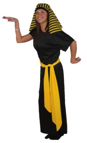 Pharao Und Kostüm Cleopatra - The Dragons Den Ägyptische Kleopatra & King Pharao Kostüme bis zu XXL, Damen, schwarz