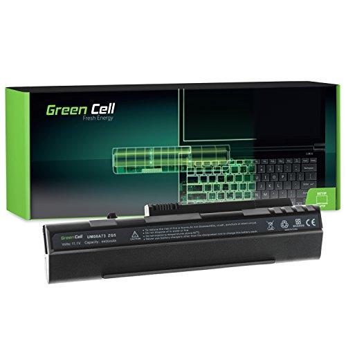 Green Cell® Extended Serie Laptop Akku für Acer Aspire One KAV10 (6 Zellen 4400mAh 11.1V Schwarz)