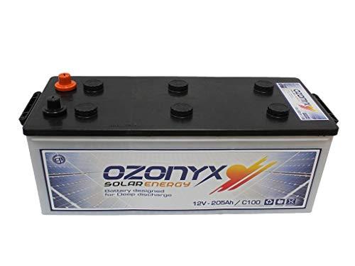 La Batería Solar 250Ah / 12v Ozonyx es una batería compuesta por 6 celdas de 2V con una tensión total de 12V , es decir, de la tipología monoblock. Las Baterías Solares 250Ah / 12v Ozonyx son las que mayor cantidad de amperios proporcionan en relació...