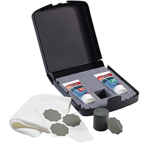 Kratzerentferner-Set 9-Teilig für alle Lacke inkl. Metallic-Lacke - Lackreperatur für Auto Kratzer entfernen - Auch tiefere Kratzer Schrammen Farbspuren - Autolacke Lack