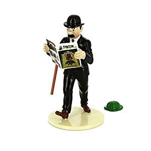 """Figura Fernández con el sombrero de Tornasol """"Lisez Tintin"""" 46302 (2016) 3"""