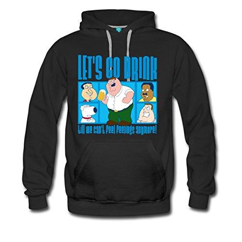 family-guy-peter-griffin-lets-go-drink-manner-premium-hoodie-von-spreadshirtr-l-schwarz