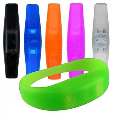 Blink Bandz LED Armband aus Silikon - Leucharmband aus Silikon