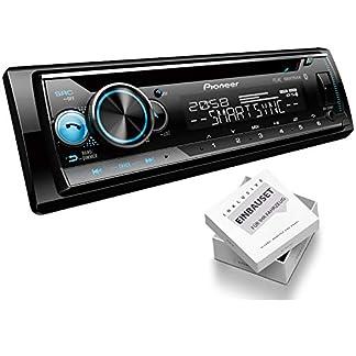 Pioneer-DEH-S510BT-1-DIN-Autoradio-CD-Tuner-USB-AUX-passend-fr-Citroen-C3-Pluriel-H-2003-2010-schwarz