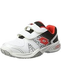Lotto Sport T-Strike Ii Cl S, Chaussures de Tennis Mixte Enfant