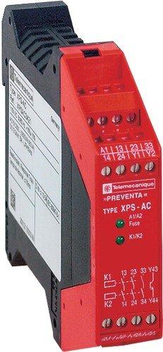 Schneider XPSAC3721 Sicherheitsbaustein not-Halt, 3 Relais+1 Transistor, 230 Vac, Fest Ac-transistor