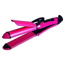 Novax NX-102 2 In 1 Hair Straightner & Curler