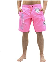 GEOGRAPHICAL NORWAY Quiro White Men's Bathing Shorts