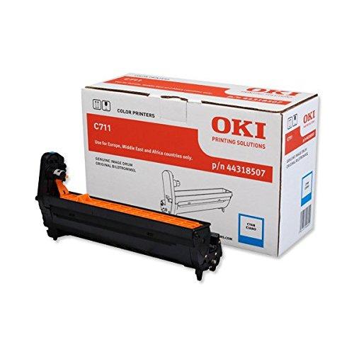 Preisvergleich Produktbild OKI 44318507 C711 Trommelkartusche cyan 20.000 Seiten