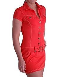 EyeCatchDress - Women's Tia Stretch Denim Dress