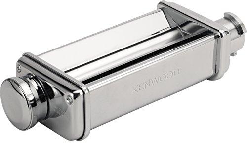 Kenwood kax980me sfogliatrice per impastatrice planetaria kcc+kvc+kvl+kmx, acciaio inossidabile, argento