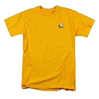 Star Trek T-Shirt - The Next Generation Engineering Emblem Costume Tee S